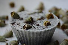 Dekorácie - Dekoračné muffin mydlo - mak+citrus - 9627378_