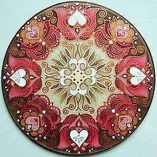 Dekorácie - Mandala...Láska, vzťah, partnerstvo - 9627122_