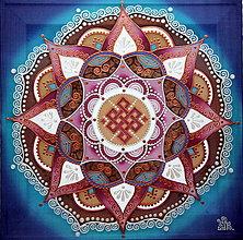 Obrazy - Mandala...Rodinné šťastie - 9627164_