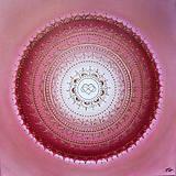 Obrazy - Mandala LÁSKA A ROMANTIKA 60 x 60 - 9628216_