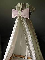 Textil - baldachýn na postieľku - 9627387_