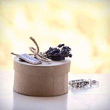 Sady šperkov - Levanduľa - sada šperkov v darčekovej krabičke - 9627477_