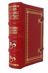 Knihy - W. Goethe: UTRPENIE MLADÉHO WERTHERA - 9629786_