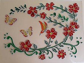 Obrázky - Tanec motýľov medzi kvietkami - 9626940_