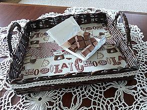 Košíky - Podnos Chocolat - 9628375_