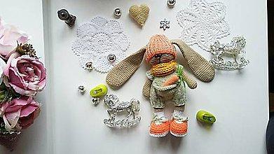 Hračky - Zajko a Zajka párik záhradkári - 9629210_