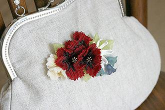"""Kabelky - kabelka """"lúčne kvety"""" - 9627592_"""