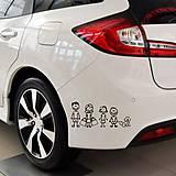 Iné doplnky - Nálepky na auto - Rodina - 9628127_