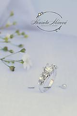Prstene - Zásnubný prsteň - romantika, láska, poetická symbolika, kvietky - 9628590_