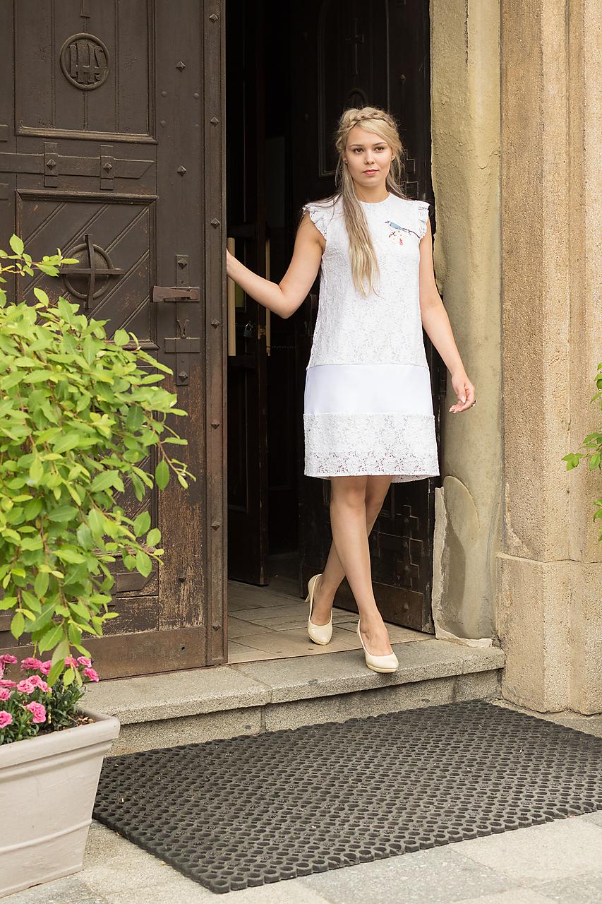 Šaty s výšivkou   danielahrabovska - SAShE.sk - Handmade Šaty bea69e6ce0e