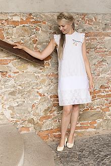 Šaty - Šaty s výšivkou - 9628950_