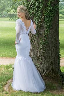 Šaty - VÝPREDAJ Svadobné šaty na šnurovanie - 9629052_