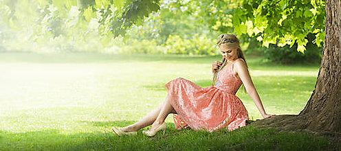 Šaty - VÝPREDAJ Krajkové šaty s výšivkami - 9629100_