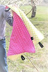- Bavlnená deka s úchytom - 9630245_