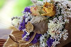 Dekorácie - Kvetinový kornútok - 9630667_