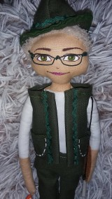 Bábiky - Personalizovaná bábika - poľovník - 9631037_