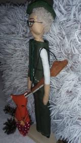 Bábiky - Personalizovaná bábika - poľovník - 9631042_