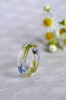 Prstene - Prsteň Nezábudka a mach (2468 A) - 9632097_