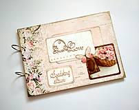 Svadobný fotoalbum * kniha hostí * album A4