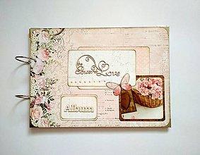Papiernictvo - Svadobný fotoalbum * kniha hostí * album A4 - 9630845_