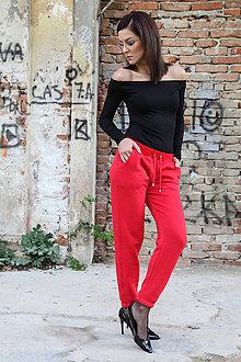 Nohavice - Tepláky v základnom strihu, všetky farby. - 9632906_