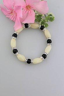 Náramky - ónyx s jadeitom náramok luxusný - 9632750_