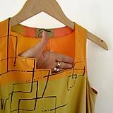 Šaty - SVĚŽÍ ... šaty bavlněné - 9630508_