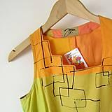 Šaty - SVĚŽÍ ... šaty bavlněné - 9630512_