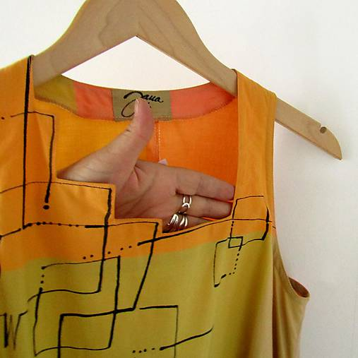 SVĚŽÍ ... šaty bavlněné