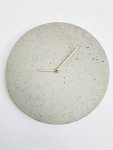 Hodiny - Betónové hodiny - PURE 40 (2) - 9630113_