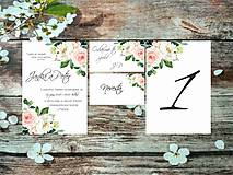 Papiernictvo - Svadobné oznámenia 8 - 9632550_