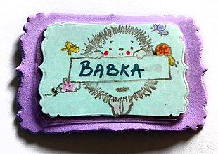 Magnetky - Babka - 9630973_