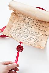 Papiernictvo - Svadobný sľub - pergamen - 9631167_