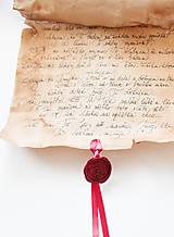 Papiernictvo - Svadobný sľub - pergamen - 9631168_