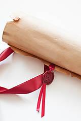 Papiernictvo - Svadobný sľub - pergamen - 9631170_