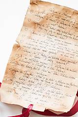 Papiernictvo - Svadobný sľub - pergamen - 9631175_
