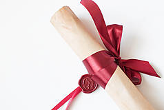Papiernictvo - Svadobný sľub - pergamen - 9631176_
