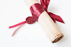 Papiernictvo - Svadobný sľub - pergamen - 9631177_