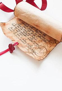 Papiernictvo - Pergamen na rozlúčku - 9631136_