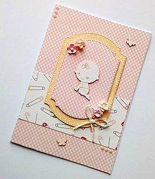 Papiernictvo - blahoželanie k narodeniu dieťatka - 9630411_