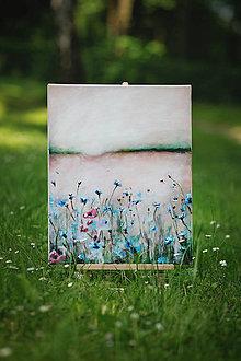 Obrazy - Stopy lúky v snovom kraji - 9630153_