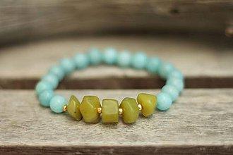 Náramky - Náramok z minerálu jadeit - 9631123_