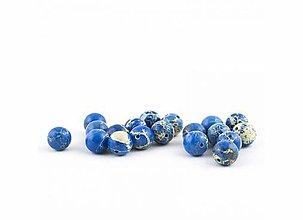Minerály - Imperial jaspis modrý 10 mm - 9632080_