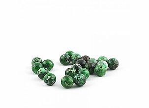 Minerály - Imperial jaspis zelený 10 mm - 9632102_