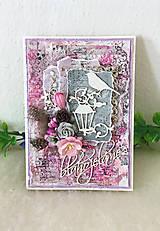 Papiernictvo - Pohľadnica pre dámu - AKCIOVÁ CENA - 9631593_