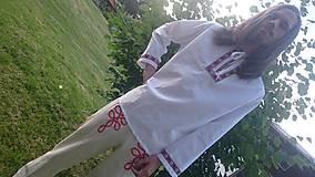 Košele - Pánska krojová košeľa - 9635234_