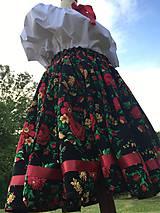 Sukne - Dámska krojová sukňa - 9635339_