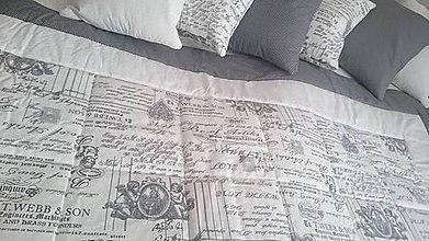 Úžitkový textil - Patchworková súprava - Anjelské písmo - 9635426_