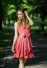 Šaty - Letní zavonovací šaty na objednávku - 9634551_