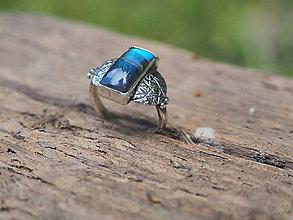 Prstene - Prsteň labradorit - 9634372_